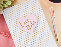 Love Notes Notebook