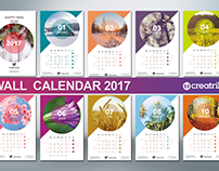 Wall Calendar 2017 - v004