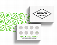 BUSINESS & LOYALTY CARD. FOLDED LEAFLETS.
