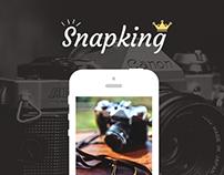 Snapking - photo editing app