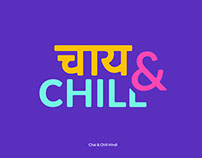 Chai & Chill - Typography