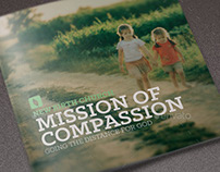 Mission of Compassion Church Brochure Template