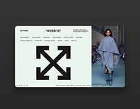 Off_White Homepage UI