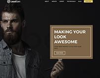 Leadgen - Marketing Landing Page - Barber