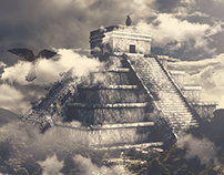 Aztec Pyramid - Photo Manipulation + CGI