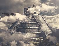 Aztec Pyramid - Photo Manipulation + CGI