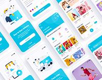 Fashion Shopping Ecommerce Mobile App UI