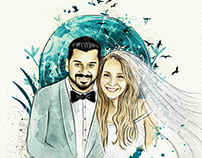 Abdullah&Tuğba wedding invitation