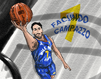 Facu Campazzo, the 7th of the Nuggets