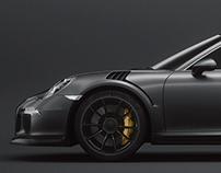 Porsche 911 GT3 RS Octane Render