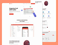 Todoist landing page redesign