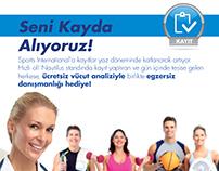 Sports Internatonal Reklam ve Tasarım Çalışmaları
