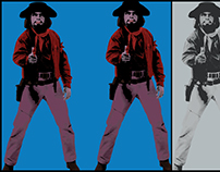 DOUBLE WORF /// ANDY WARHOL TRIBUTE