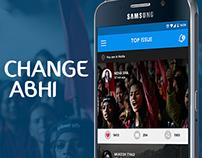 Change Abhi- Raising Awareness Towards Social Cause