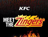KFC Meet The Zingers