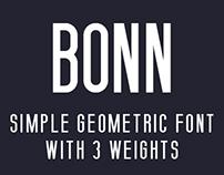 BONN - free type - 3 weights