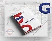 Catalogo tipográfico Gill Sans. Tipografía 2016 UADE