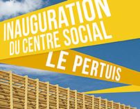 PRINT / Inauguration Centre Social Le Pertuis