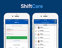 IOS App Design for Shiftcare