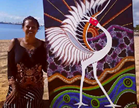 ART COMMISSION: NDIS Brolga Dance