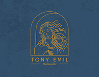 Logo & Identity for Tony Emil Photography.
