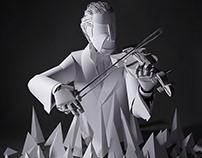 National Arts Center - Paper Sculpture
