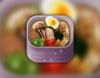 Japanese Food App Icon