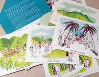 70 ANOS DE TURISMO SOCIAL SESC-SP - postcards