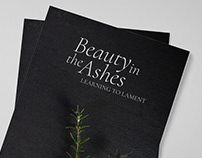 Book Design & Photography - Beauty in the Ashes