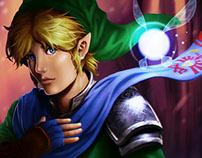 Hyrule Warriors' Link