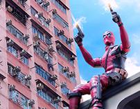 Deadpool in Hong Kong