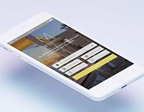 Mobile app for room reservation