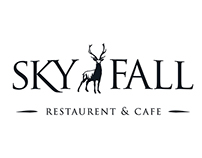 SKYFALL Restaurant & Cafe Branding