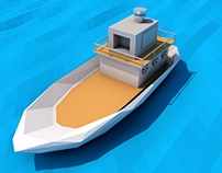Boat Low Poly