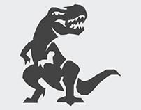 140: Series 3 -  White Space Dino