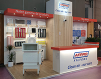 Stand menuiserie Afpro Filters