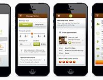 Spa & Saloon Mobile App
