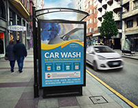 Car Wash Services Poster Template