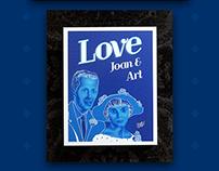 JOAN & ART JORSTAD / ILLUSTRATION / CANVAS PRINTING