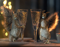 New Year's squirrels id's. episodes 01-18.