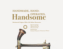Handmade, Hand-Operated, Handsome