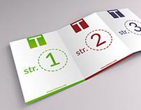 Free Tri-Fold brochure mockup - PSD.