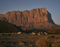 The Hajar mountains - Oman