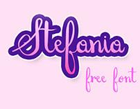 Stefania Free Font