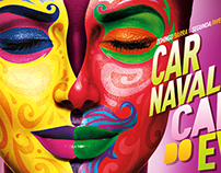 Illustrations: Carnival 2015 Campaign - Bloco EVA