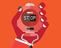 """""""Stop Don't Drop"""" Curriculum Poster"""