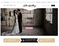 eCommerce Website design mockups