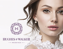 "Brand identity for ""Hughes & Walker"""