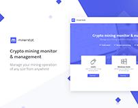 minerstat - crypto mining monitor & management