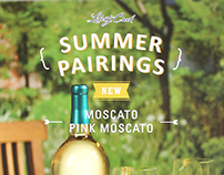 Liberty Creek Winery _ Moscato & Pink Moscato